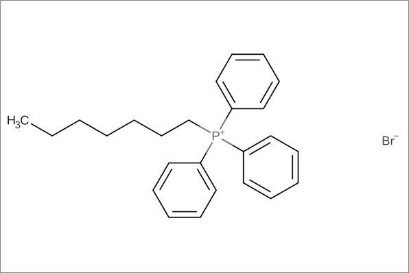 (1-Heptyl)triphenylphosphonium bromide
