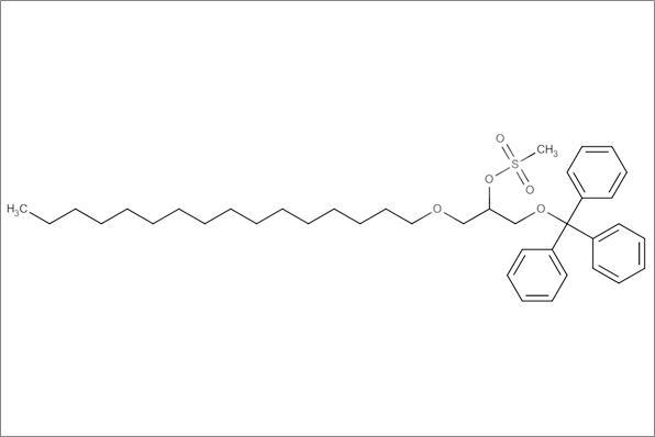 (+/-)1-O-Hexadecyl-2-O-methanesulfonyl-3-O-(triphenylmethyl)glycerol, min.