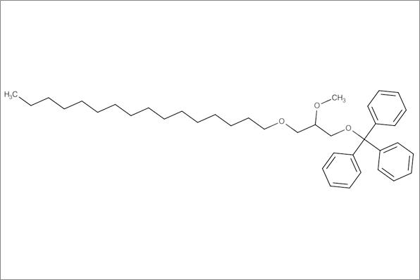 (+/-)1-O-Hexadecyl-2-O-methyl-3-O-(triphenylmethyl)glycerol