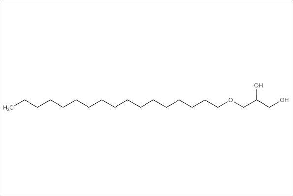 (+/-)1-O-heptadecylglycerol