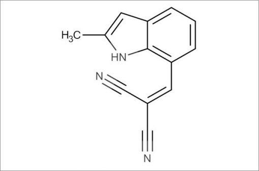2-((2-Methyl-1H-indol-7-yl)methylene)malononitrile