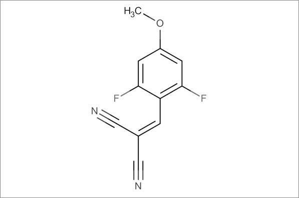 2-(2,6-Difluoro-4-methoxybenzylidene)malononitrile