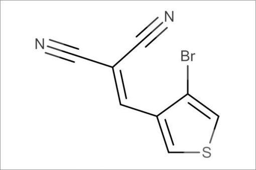 2-((4-Bromothiophen-3-yl)methylene)malononitrile