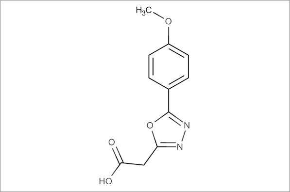 2-(5-(4-Methoxyphenyl)-1,3,4-oxadiazol-2-yl)acetic acid