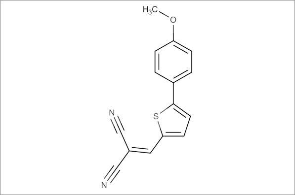 2-((5-(4-Methoxyphenyl)thiophen-2-yl)methylene)malononitrile
