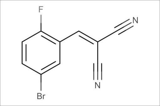 2-(5-Bromo-2-fluorobenzylidene)malononitrile