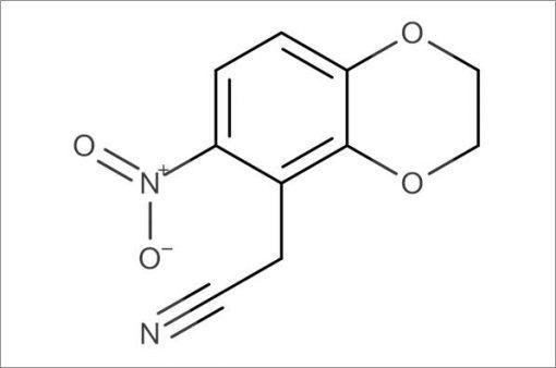 2-(6-Nitro-2,3-dihydrobenzo[b][1,4]dioxin-5-yl)acetonitrile