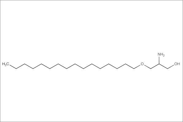 (+/-)-2-Amino-2-desoxy-3-O-hexadecyl-glycerol
