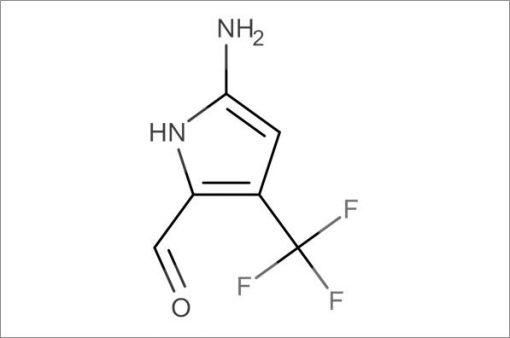 2-Amino-4-(trifluoromethyl)azole-5-carboxaldehyde