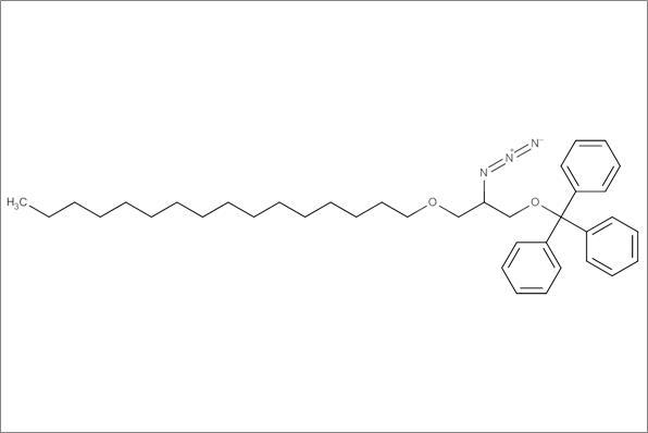 (+/-)-2-Azido-2-desoxy-3-O-hexadecyl-1-O-(triphenylmethyl)glycerol, min