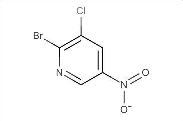 2-Bromo-3-chloro-5-nitropyridine