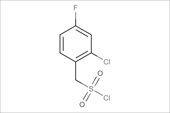 (2-Chloro-4-fluorophenyl)methanesulfonyl chloride