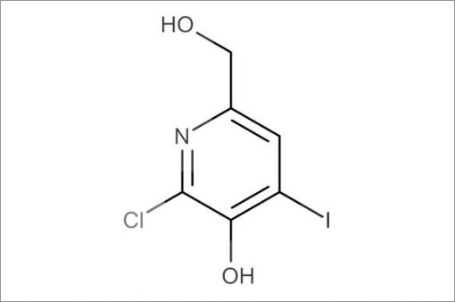 2-Chloro-6-(hydroxymethyl)-4-iodopyridin-3-ol