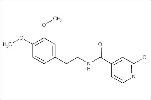 2-Chloro-N-(3,4-dimethoxyphenethyl)isonicotinamide