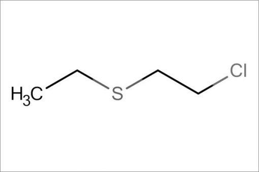 2-Chloroethyl ethyl sulfide