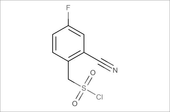 (2-Cyano-4-fluorophenyl)methanesulfonyl chloride