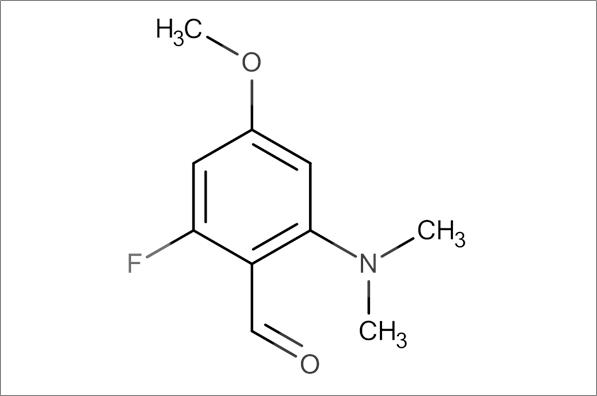 2-(Dimethylamino)-6-fluoro-4-methoxybenzaldehyde