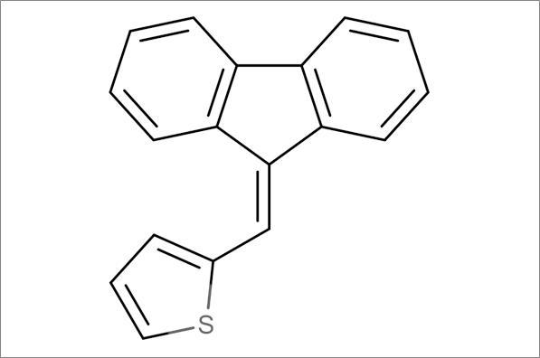2-Fluoren-9-ylidenemethylthiophene