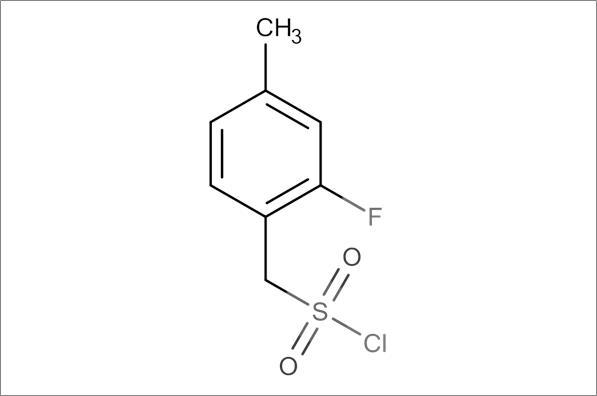 (2-Fluoro-4-methylphenyl)methanesulfonyl chloride