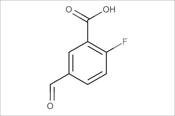 2-Fluoro-5-formylbenzoic acid