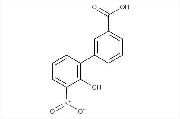 2'-Hydroxy-3'-nitrobiphenyl-3-carboxylic acid