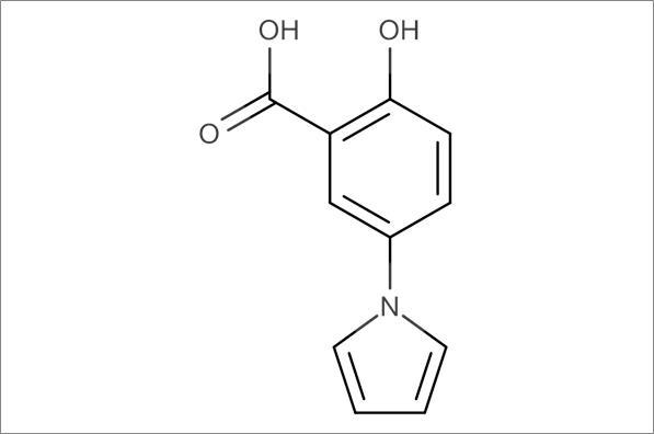 2-Hydroxy-5-(1H-pyrrol-1-yl)-benzoic acid