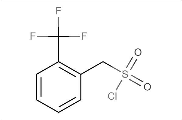[2-(Trifluoromethyl)phenyl]methanesulfonyl chloride