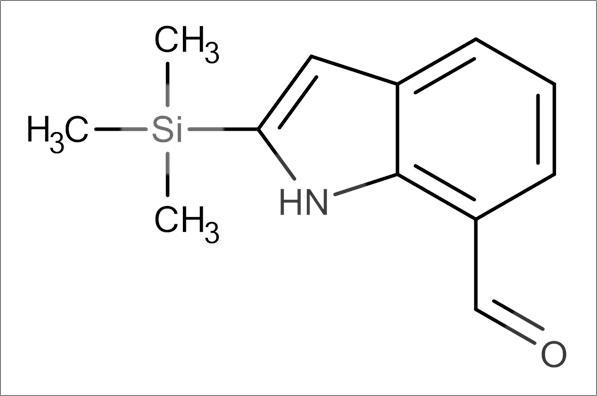 2-(Trimethylsilyl)-1H-indole-7-carbaldehyde
