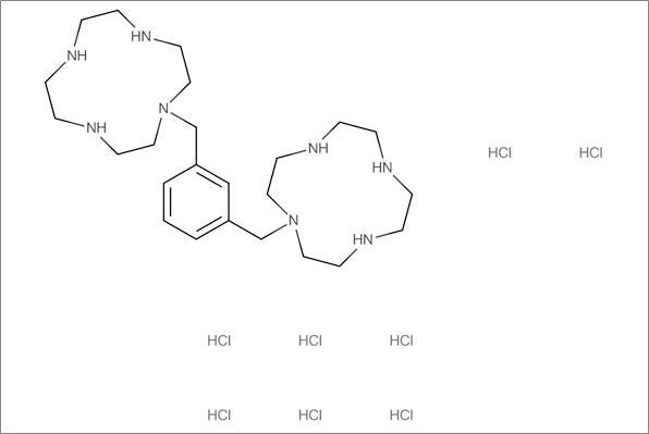 2,1'-[1,3-Phenylenebis-(methylene)]-bis-(1,4,7,10-tetraazacyclododecane) octahydrochloride (9CI)