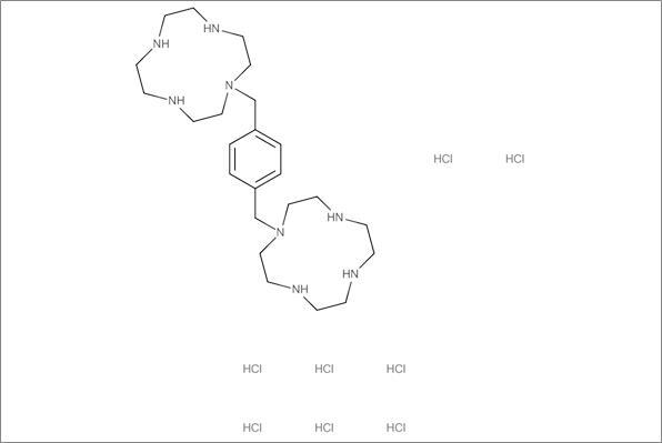 2,1'-[1,4-Phenylenebis-(methylene)]-bis-(1,4,7,10-tetraazacyclododecane) octahydrochloride (9CI)