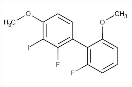 2,2'-Difluoro-3-iodo-4,6'-dimethoxy-1,1'-biphenyl