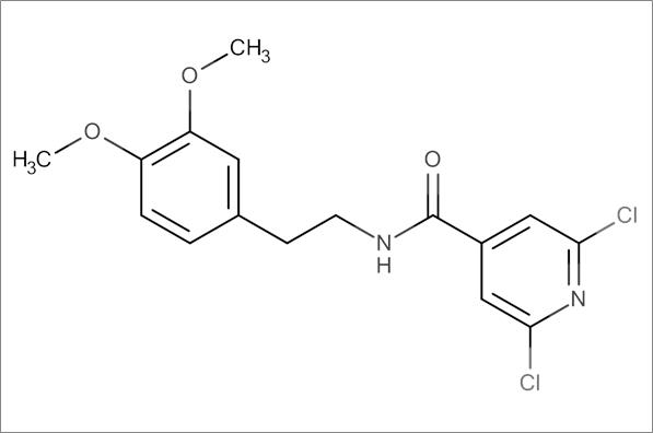 2,6-Dichloro-N-(3,4-dimethoxyphenethyl)isonicotinamide