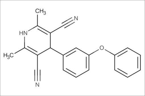 2,6-Dimethyl-4-(3-phenoxyphenyl)-1,4-dihydropyridine-3,5-dicarbonitrile