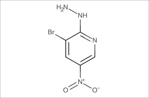 3-Bromo-2-hydrazinyl-5-nitropyridine