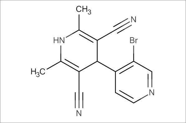 3'-Bromo-2,6-dimethyl-1,4-dihydro-[4,4'-bipyridine]-3,5-dicarbonitrile