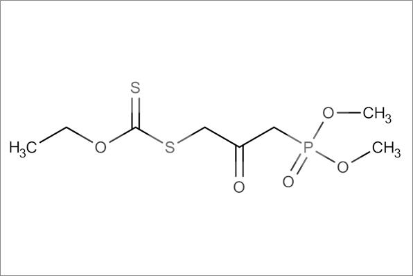 (3-Ethoxythiocarbonylsulfanyl-2-oxo-propyl)-phosphonic acid dimethyl ester