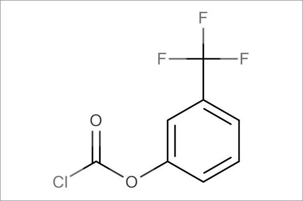 3-(Trifluoromethyl)phenyl chloroformate