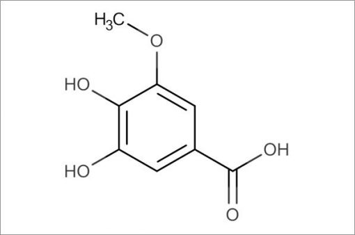 3,4-Dihydroxy-5-methoxybenzoic acid