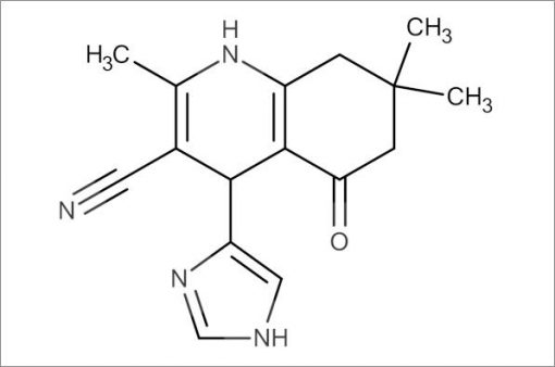 4-(1H-Imidazol-4-yl)-2,7,7-trimethyl-5-oxo-1,4,5,6,7,8-hexahydroquinoline-3-carbonitrile