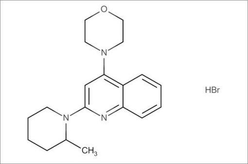4-(2-(2-Methylpiperidin-1-yl)quinolin-4-yl)morpholine hydrobromide