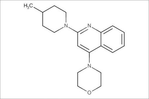 4-(2-(4-Methylpiperidin-1-yl)quinolin-4-yl)morpholine
