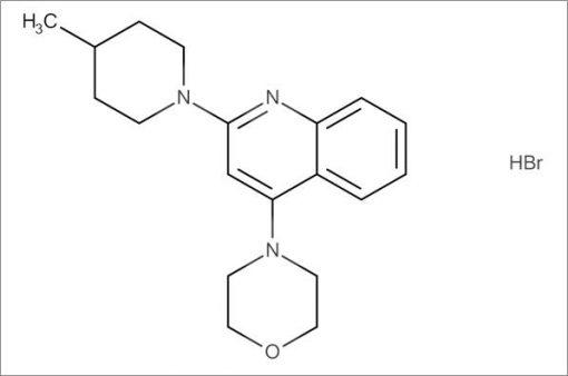 4-(2-(4-Methylpiperidin-1-yl)quinolin-4-yl)morpholine hydrobromide