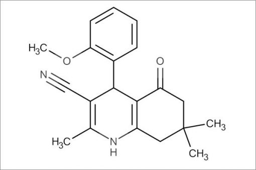 4-(2-Methoxyphenyl)-2,7,7-trimethyl-5-oxo-1,4,5,6,7,8-hexahydroquinoline-3-carbonitrile