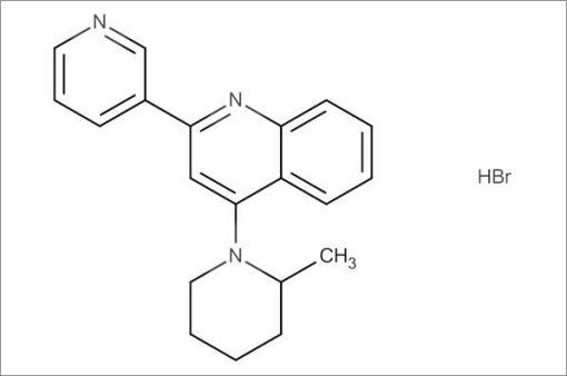 4-(2-Methylpiperidin-1-yl)-2-(pyridin-3-yl)quinoline hydrobromide