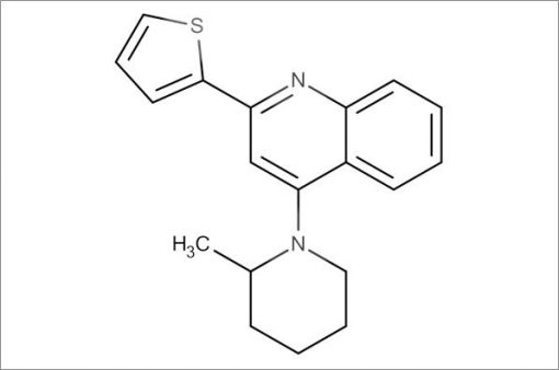 4-(2-Methylpiperidin-1-yl)-2-(thiophen-2-yl)quinoline