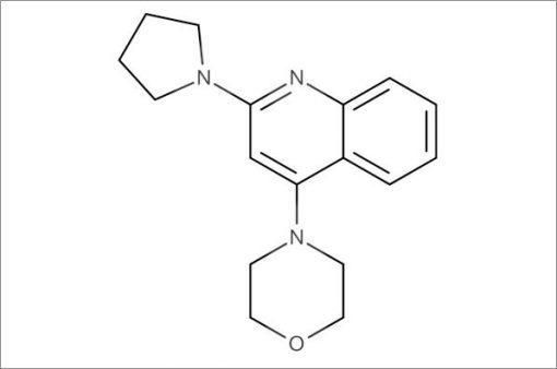 4-(2-(Pyrrolidin-1-yl)quinolin-4-yl)morpholine