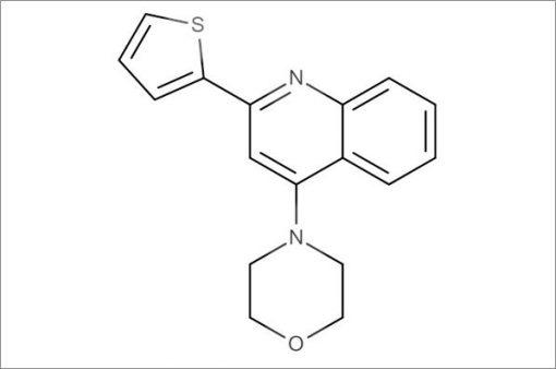 4-(2-(Thiophen-2-yl)quinolin-4-yl)morpholine