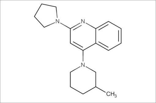 4-(3-Methylpiperidin-1-yl)-2-(pyrrolidin-1-yl)quinoline
