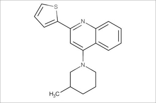 4-(3-Methylpiperidin-1-yl)-2-(thiophen-2-yl)quinoline