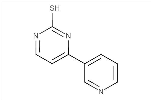 4-(3-Pyridinyl)-2-thiopyrimidine
